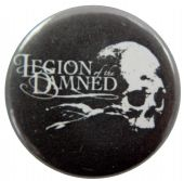 Legion of the Damned - 'Skull Logo' Button Badge
